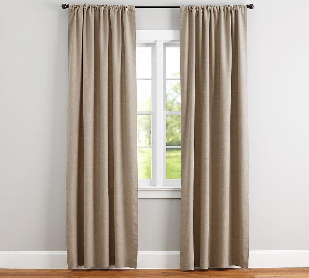 Pottery Barn Kitchen Curtains Emery Linen Cotton Curtain Pottery Barn Au