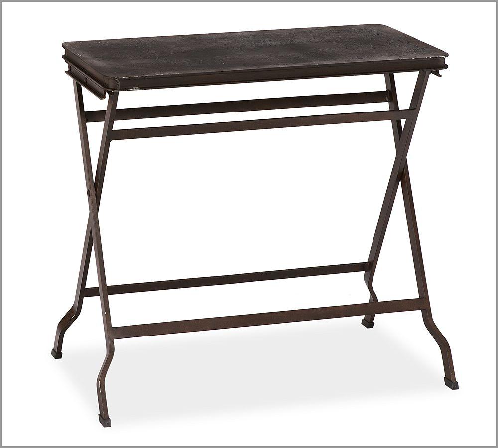Carter Metal Folding Tray Table Pottery Barn Au