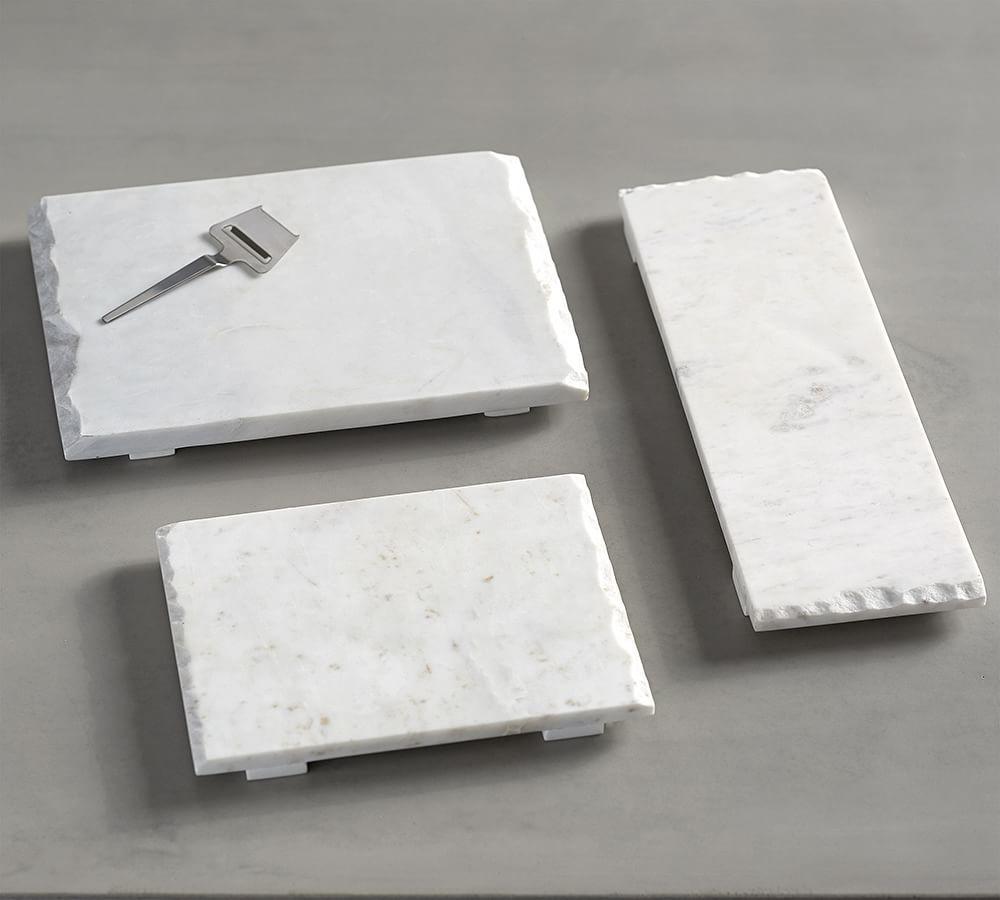 Raw Edge Marble Cheese Board White Pottery Barn Au