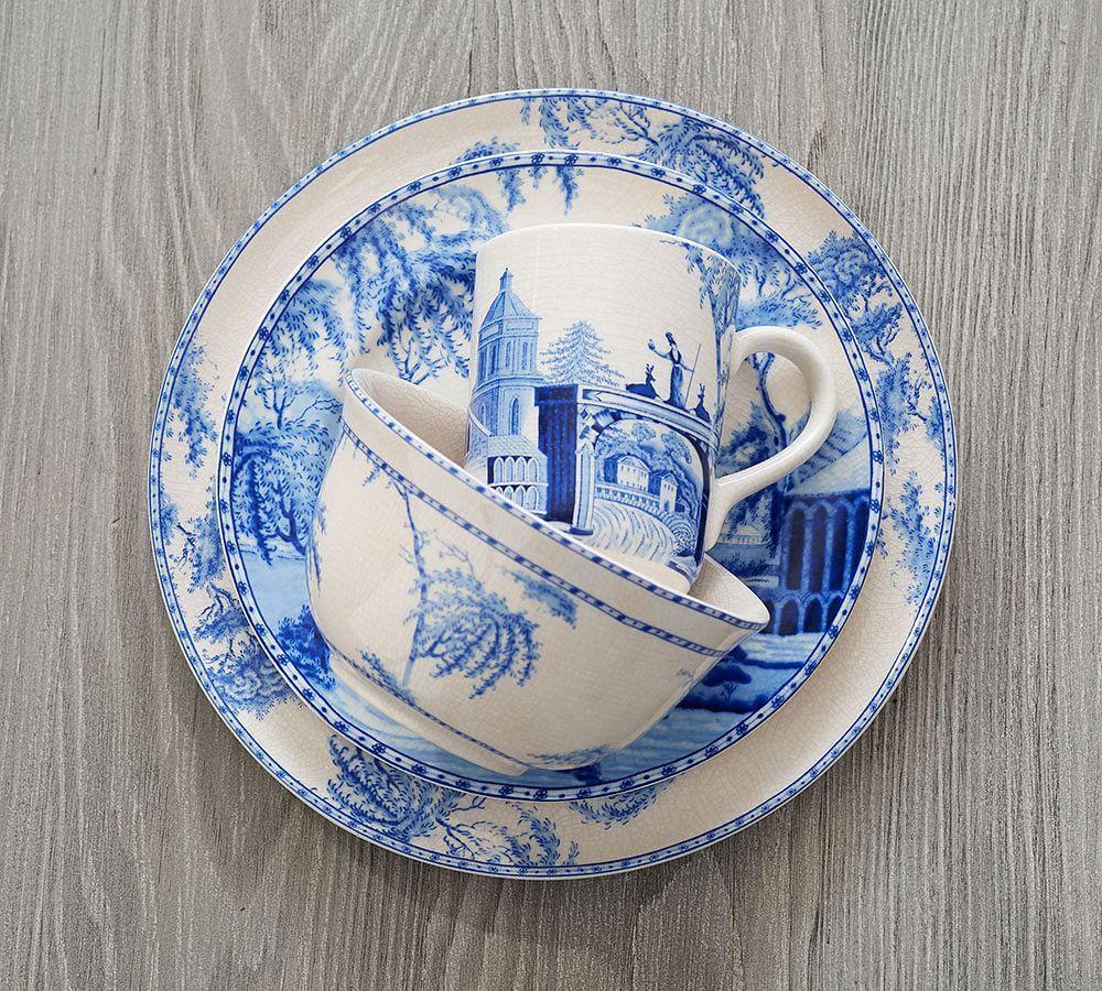 Sophia Village Salad Plates Pottery Barn Au