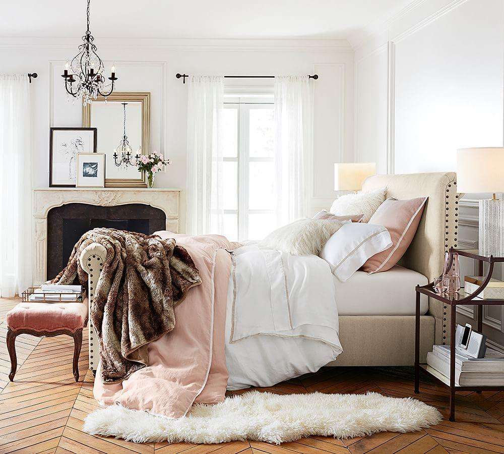 Faux Fur Throw Caramel Ombre Pottery Barn Au