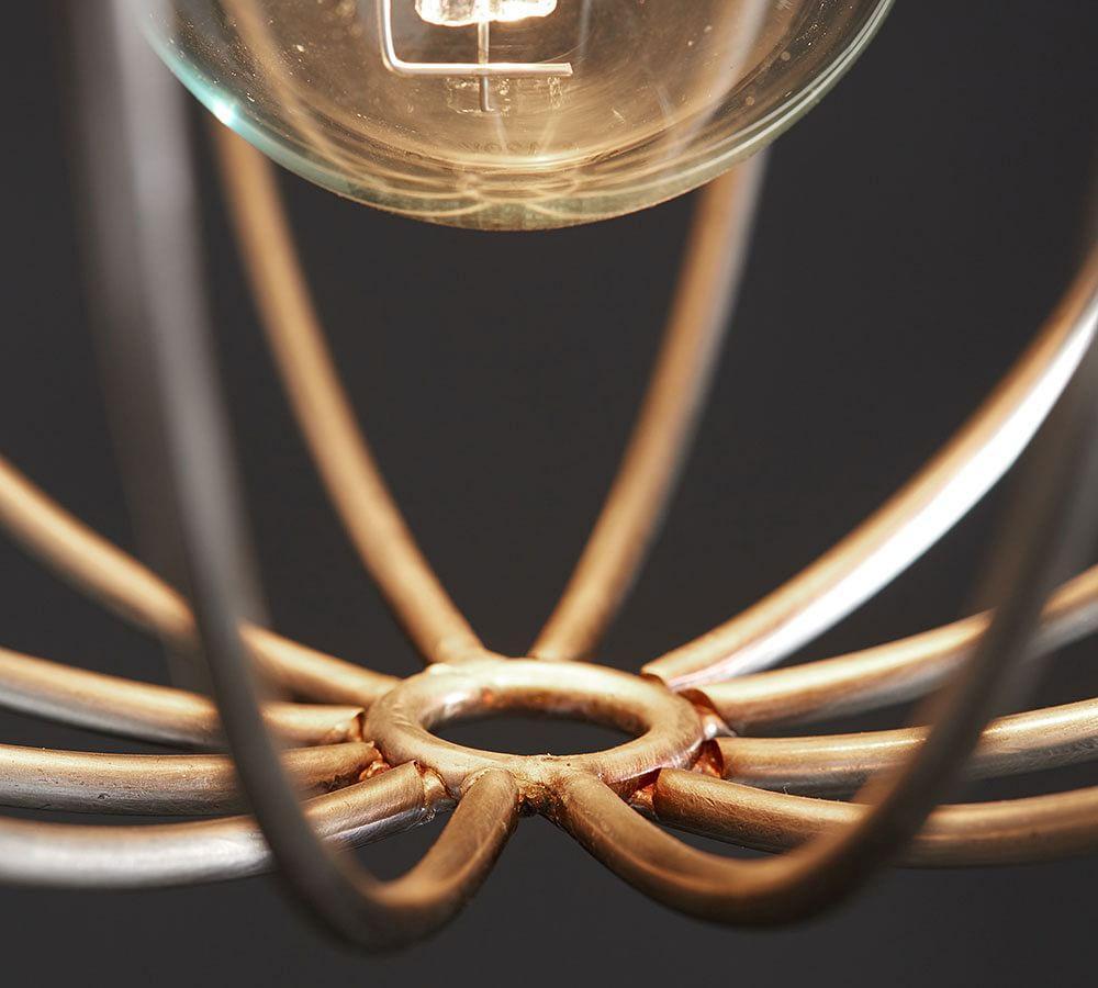 Jordyn Caged Metal Pendant