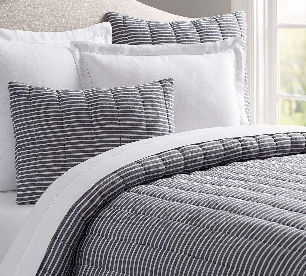 Mini Stripe Comforter Amp Pillowcase Pottery Barn Au