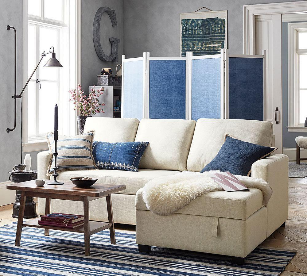 Ashley Furniture Bryant Ar Collection Collection Ashley: SoMa Bryant Upholstered Sofa With Storage Chaise Sectional