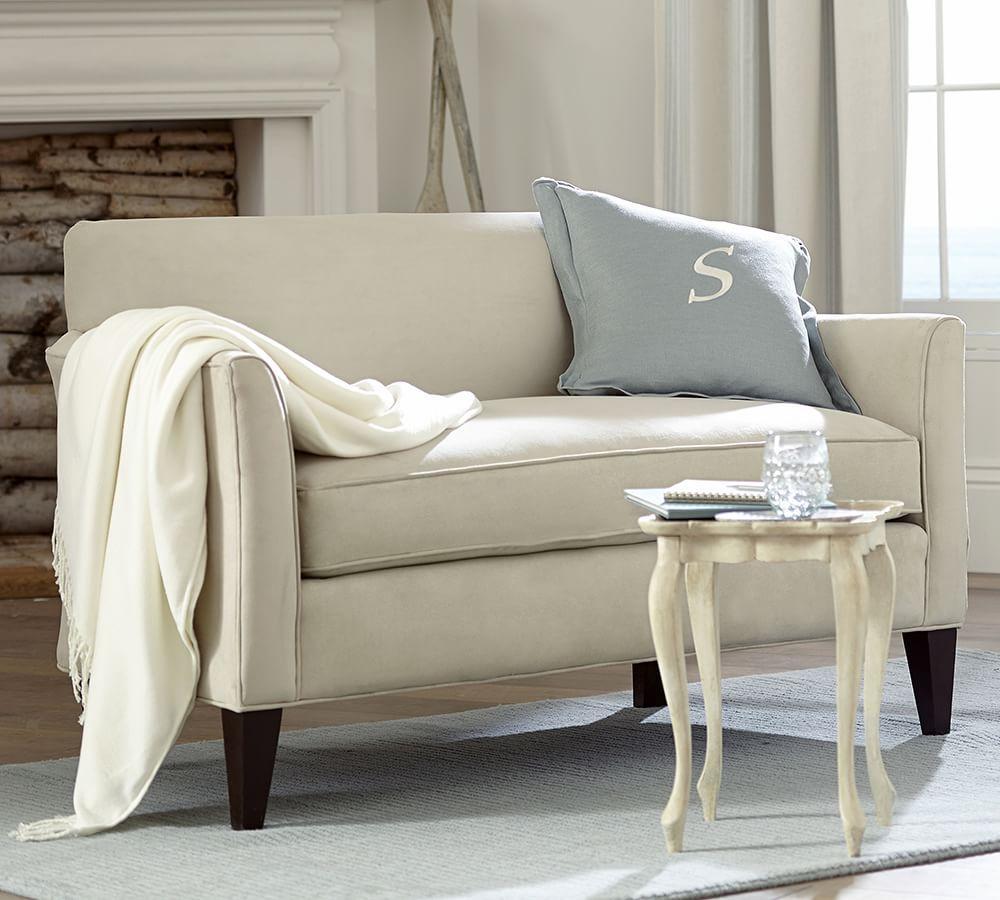 Marcel Upholstered Mini Sofa (140 Cm)