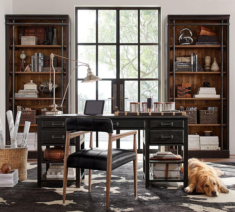 Pottery Barn Living Room Chairs Gavin Bookcase Pottery Barn Au