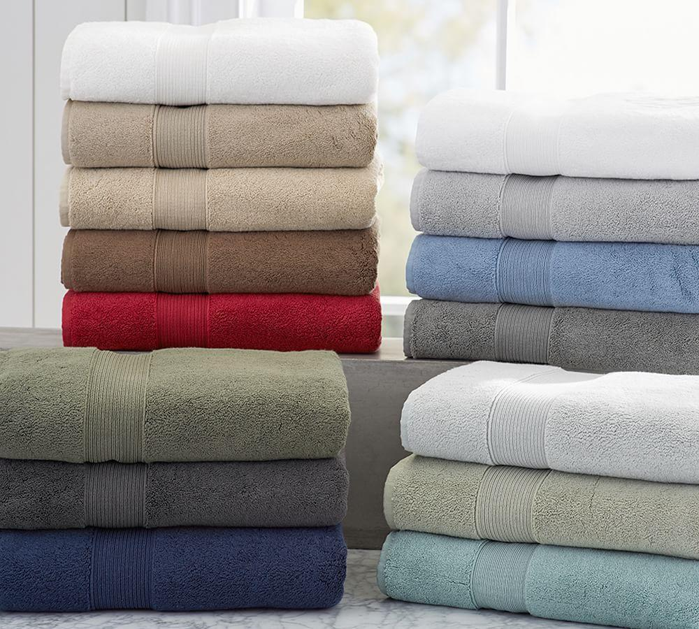 Pb Classic 820 Gram Weight Bath Towels Pottery Barn Au