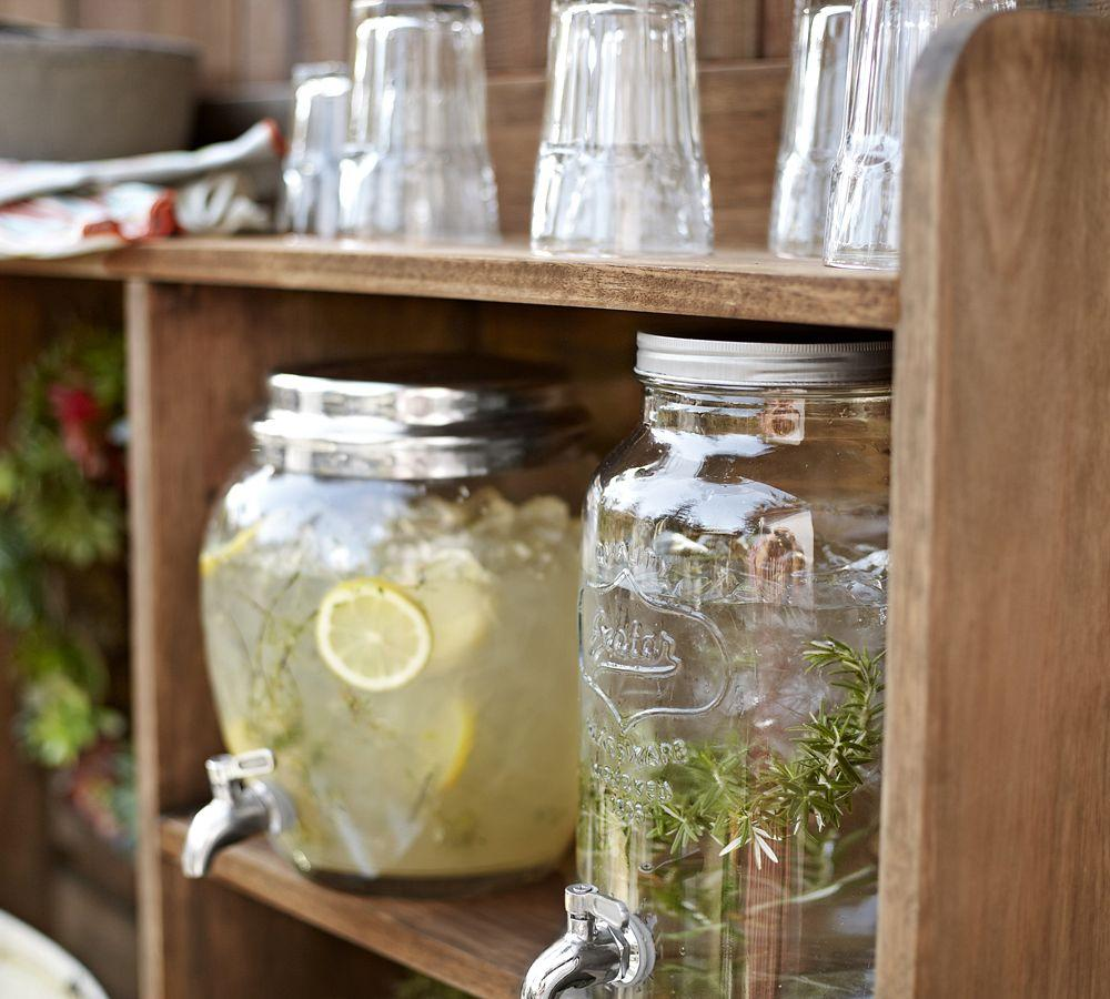 Mason Jar Drink Dispenser Pottery Barn Au