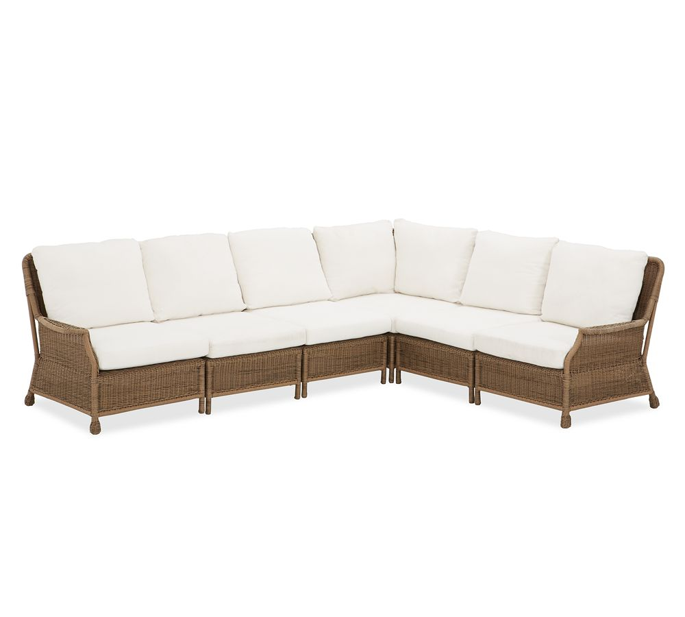 Build Your Own Saybrook All Weather Wicker Sectional