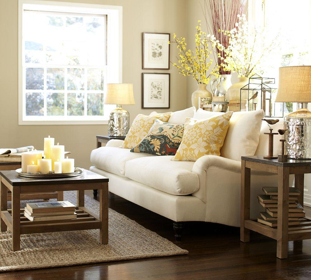 Does Pottery Barn Have Furniture In Stock: Carlisle Upholstered Sofa