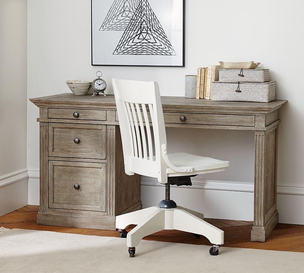 Livingston Small Desk Pottery Barn Au