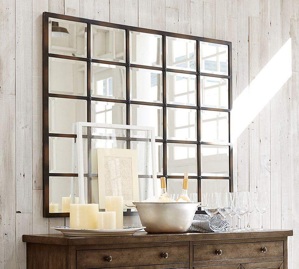 Eagan Multipanel Large Mirror Pottery Barn Au