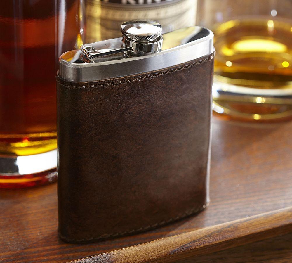 Saddle Leather Flask