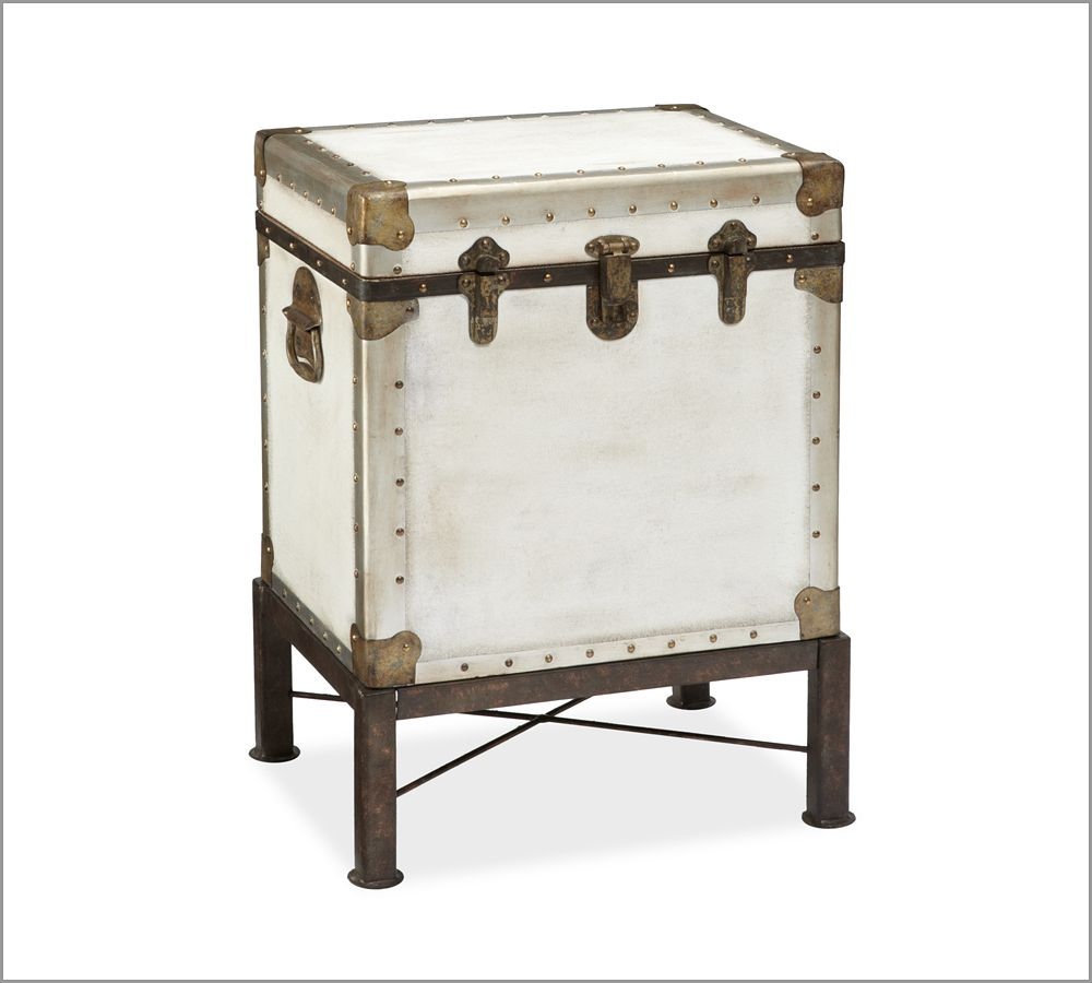 Ludlow Trunk Side Table Pottery Barn Au