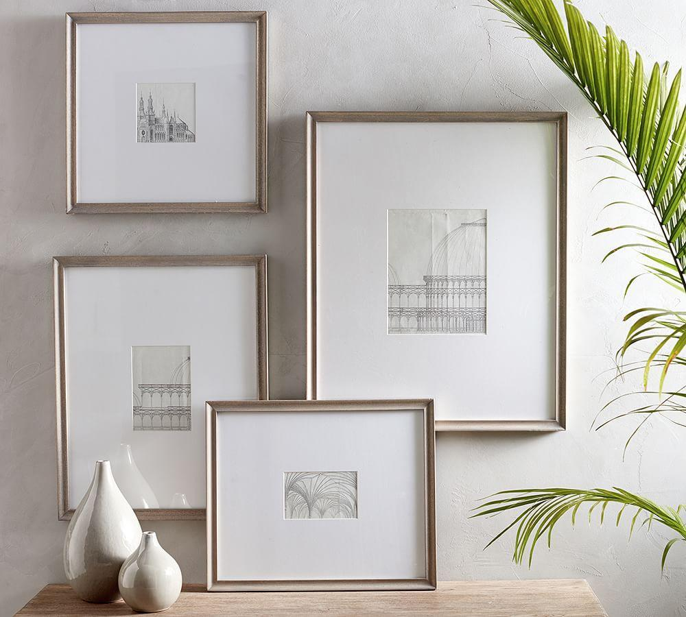 Catalina Grey Wood Gallery Frame