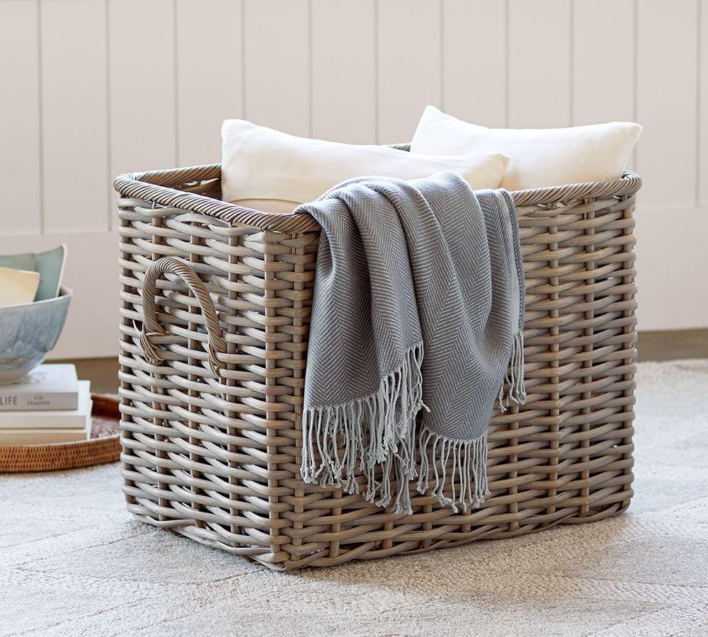 Aubrey Woven Oversized Basket