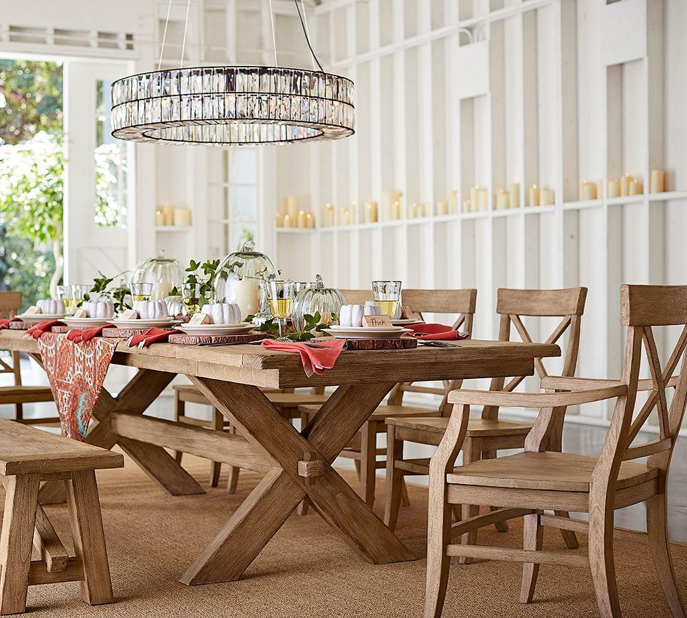 Toscana Extending Dining Table Seadrift Pottery Barn Au