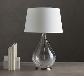 Sophia Crackled Table Lamp