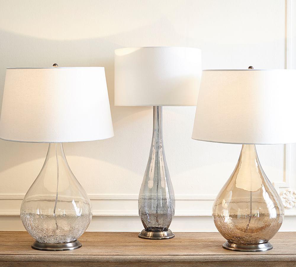 Sophia Crackled Table Lamp