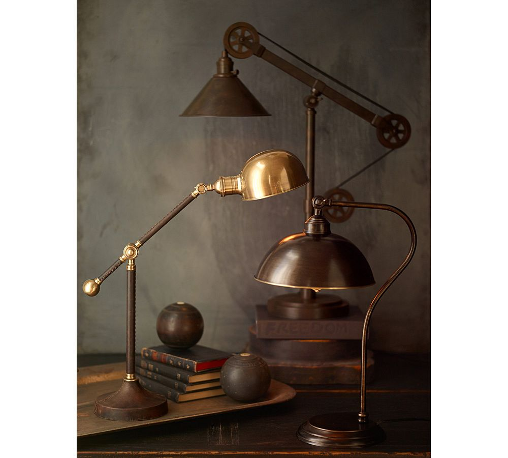 Warren Pulley Task Table Lamp Pottery Barn Au