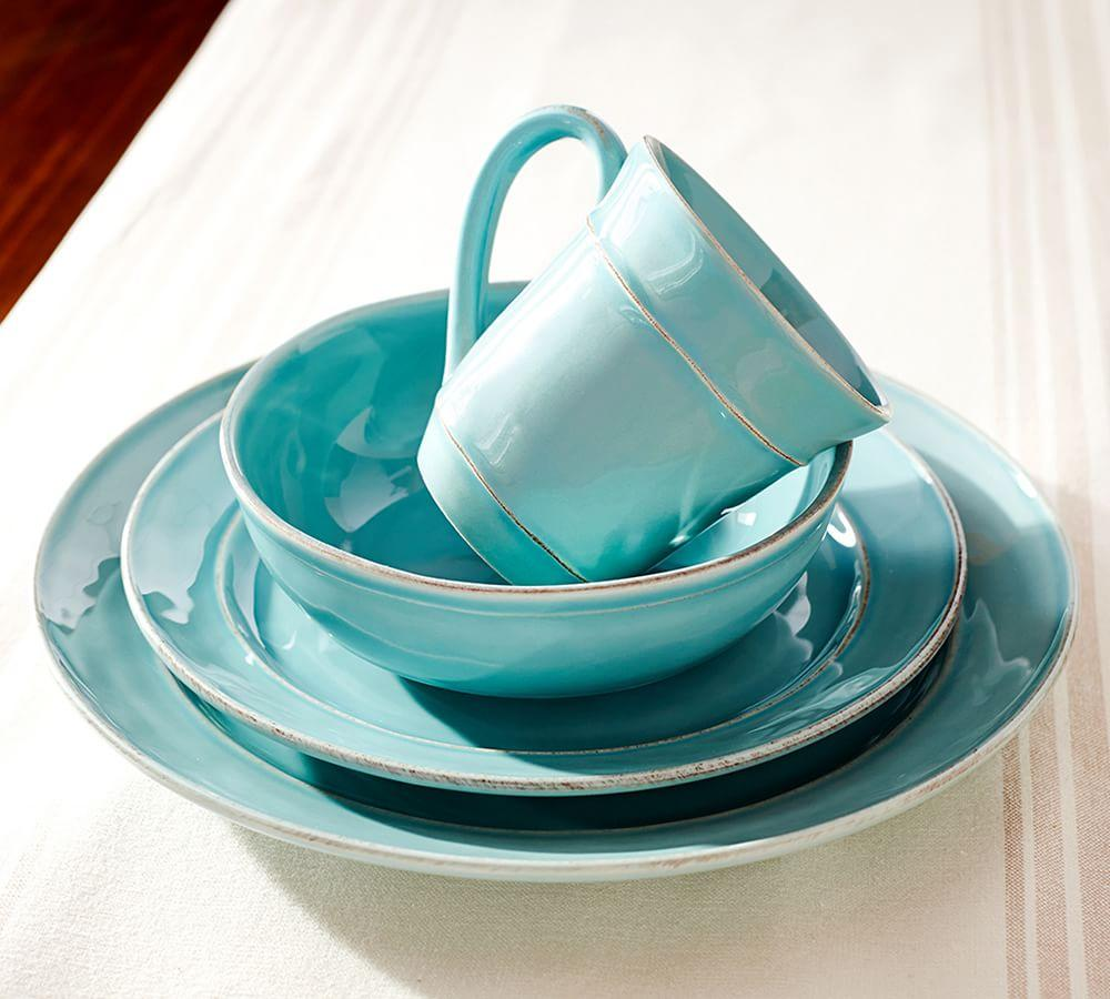 Cambria Soup Bowl - Turquoise