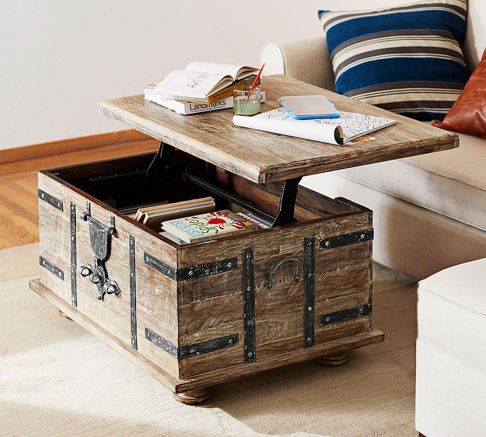 Pottery Barn Coffee Table Canada