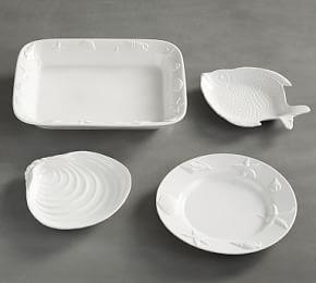 Seashore Deep Dish Serving Platter