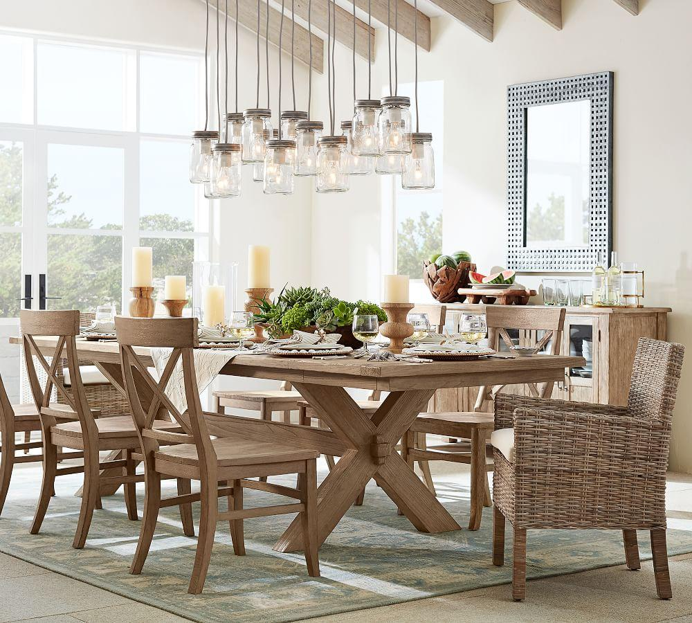 Pottery Barn Dining Room Set: Toscana Extending Dining Table - Seadrift