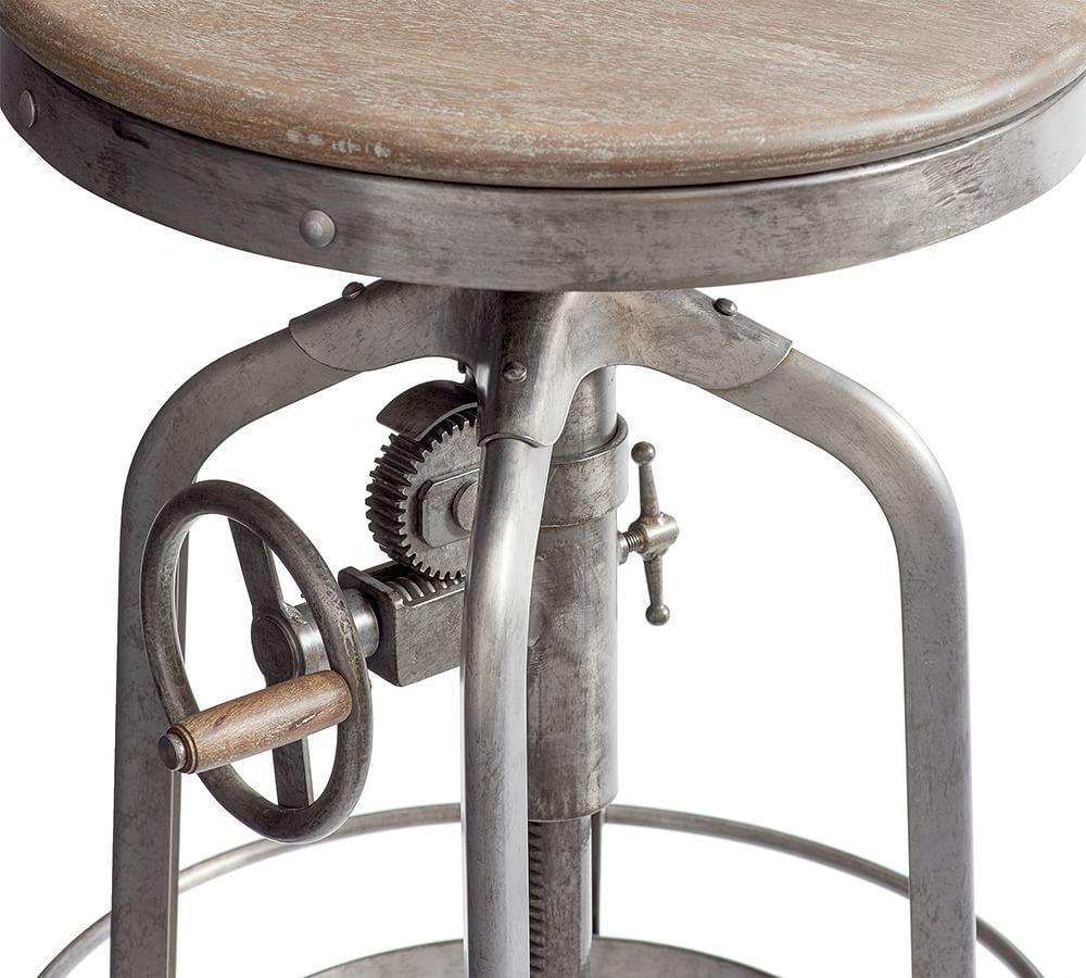 Pittsburgh Adjustable Height Barstool Pottery Barn Au