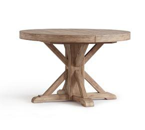 Benchwright Extending Round Table - Seadrift