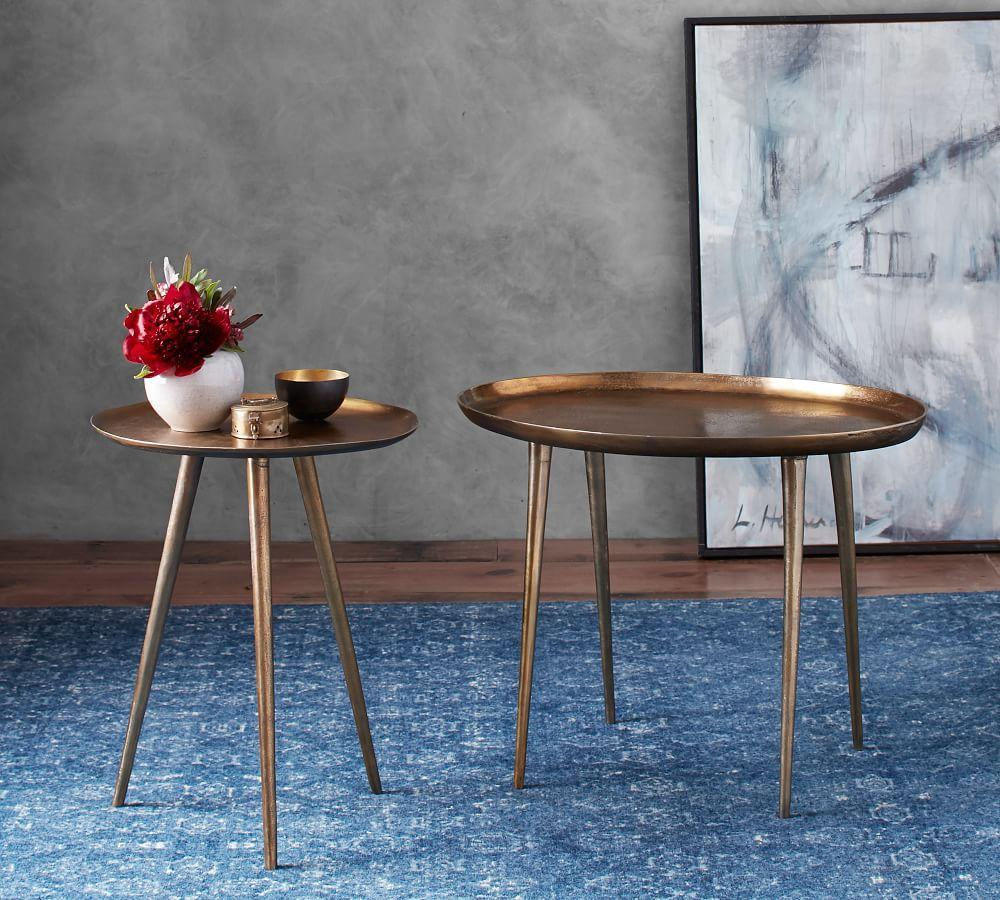 Pittsburgh Crank Coffee Table: Euclid Accent Table