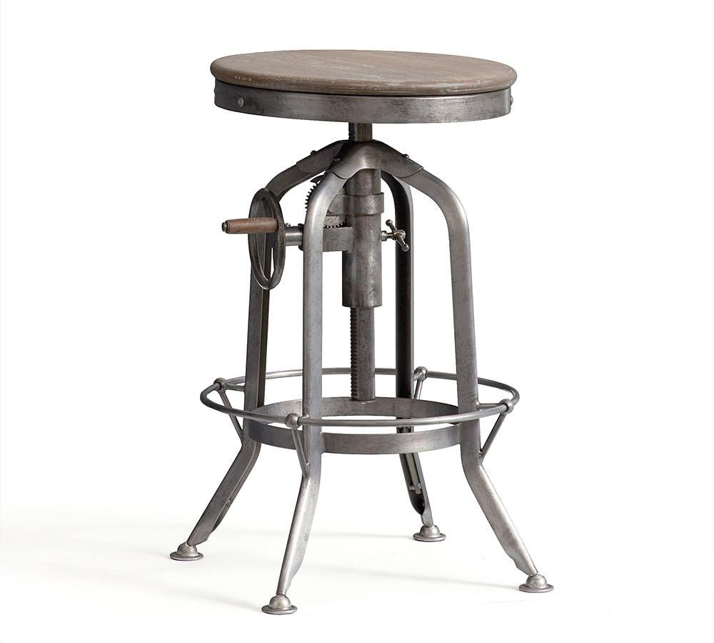 pittsburgh adjustable height barstool pottery barn au
