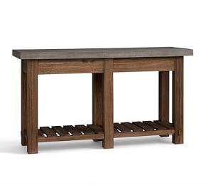 Abbott Concrete Top Console Table