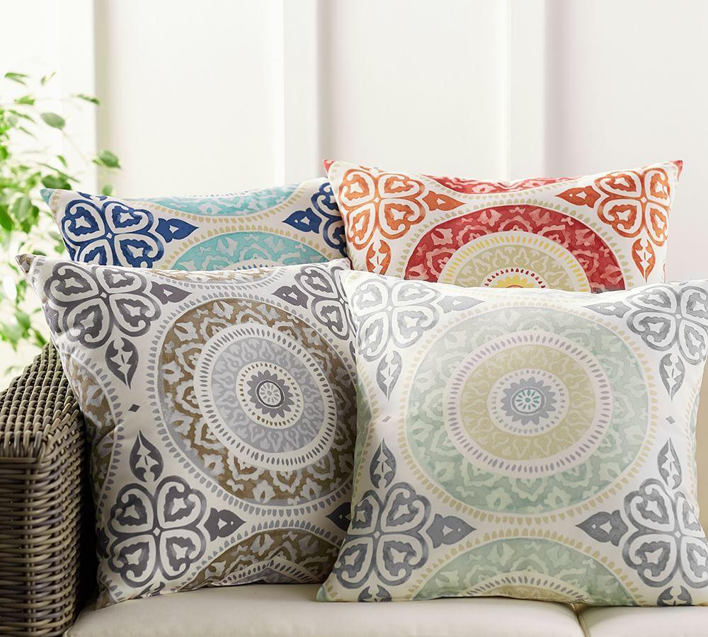 Leona Medallion Indoor/Outdoor Cushion | Pottery Barn AU