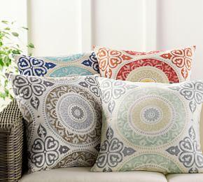 Leona Medallion Indoor/Outdoor Cushion