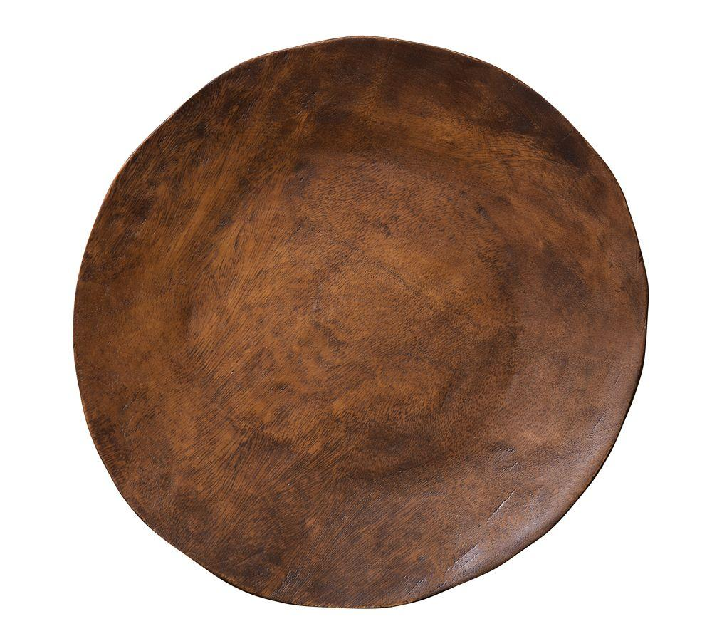 Vintage Wood Charger Pottery Barn Au