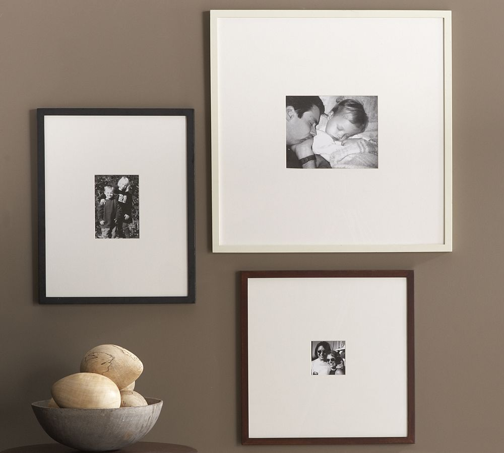 Wood Gallery Oversized Mat Frames | Pottery Barn