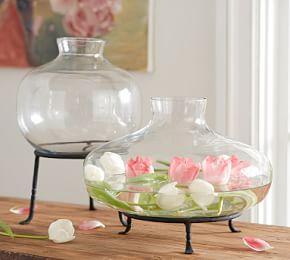 Irving Glass Vases
