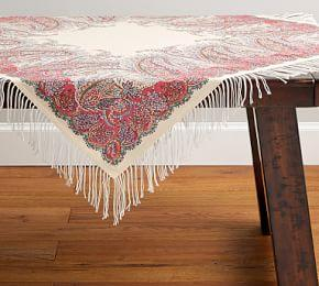Table Runners Tablecloths Amp Table Throws Pottery Barn