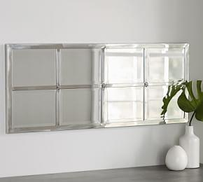 Eagan Multi-panel Extra Small Mirror - Silver