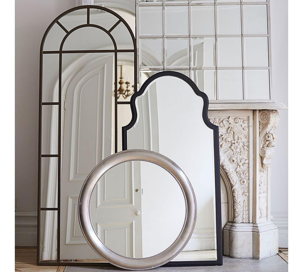 Distiller Metal Arch Floor Mirror