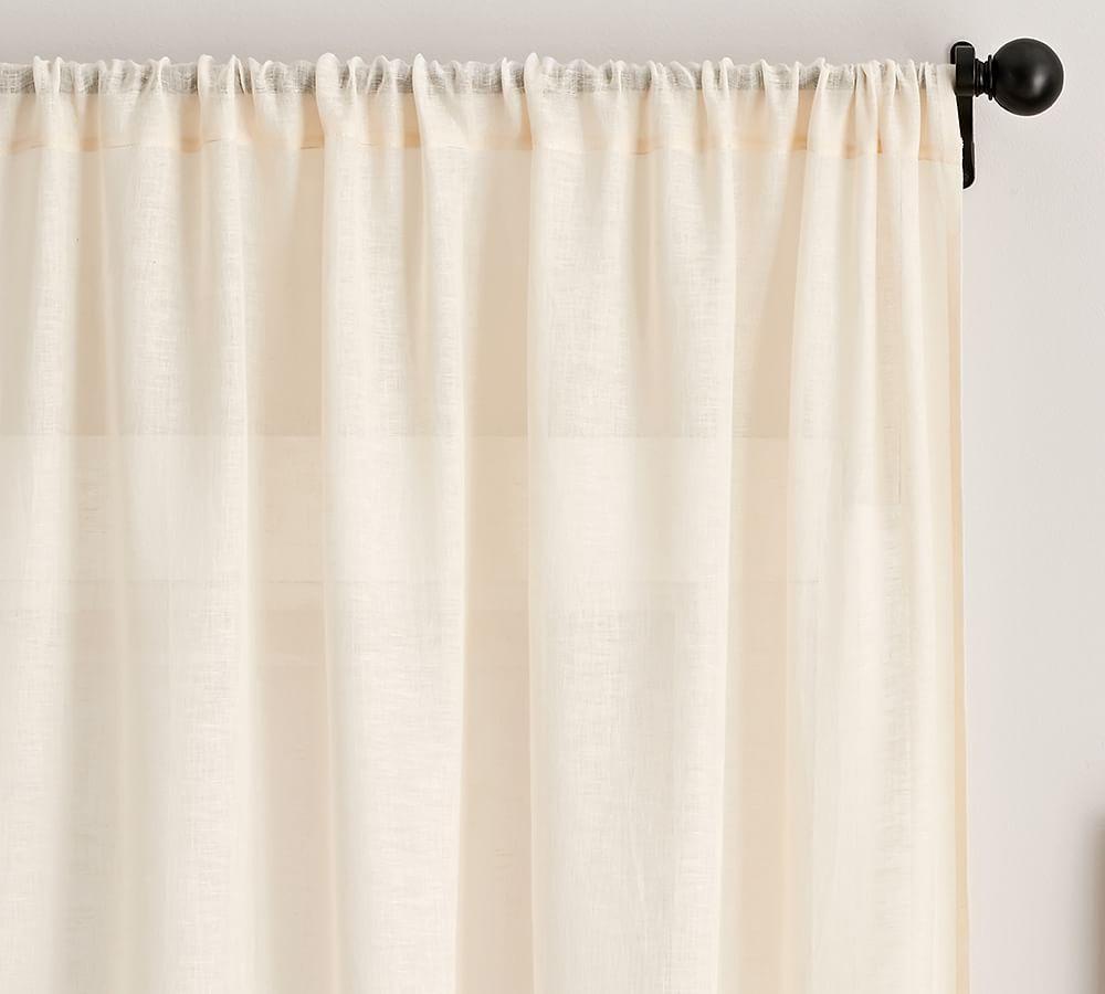 Belgian Linen Flax Sheer Curtain