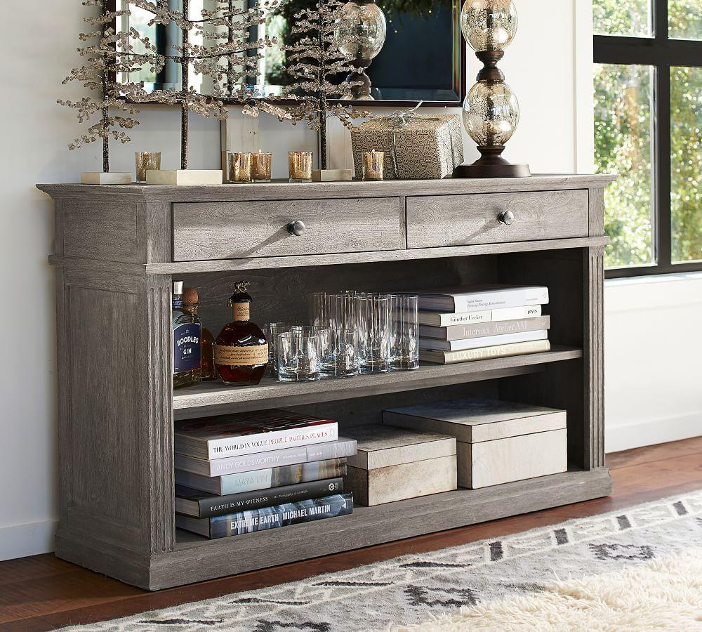 Sofa Tables Pottery Barn: Livingston Console Table