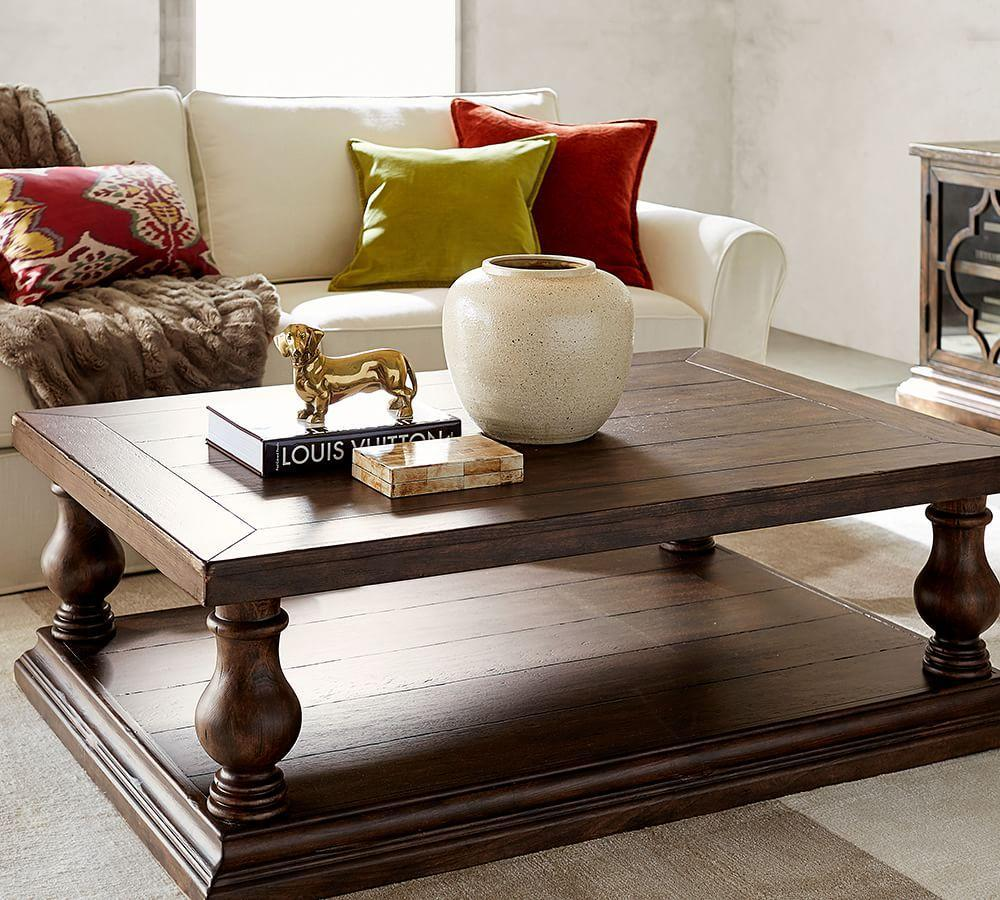 lorraine coffee table pottery barn au. Black Bedroom Furniture Sets. Home Design Ideas