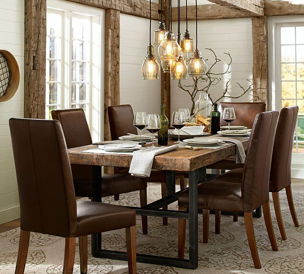 Barn Dining Table: Griffin Fixed Dining Table