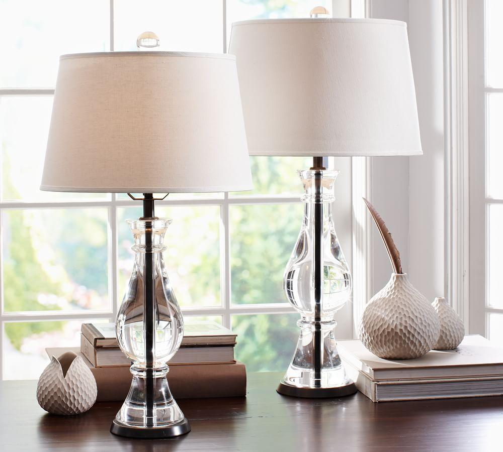 Marston Crystal Table   Bedside Lamp Bases. Crystal Table   Bedside Lamp Bases