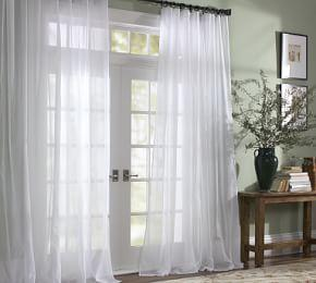 Voile Pole Pocket Curtain