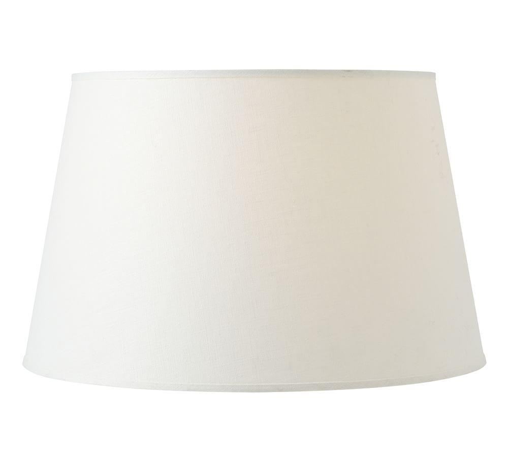 Linen Tapered Drum Lamp Shade