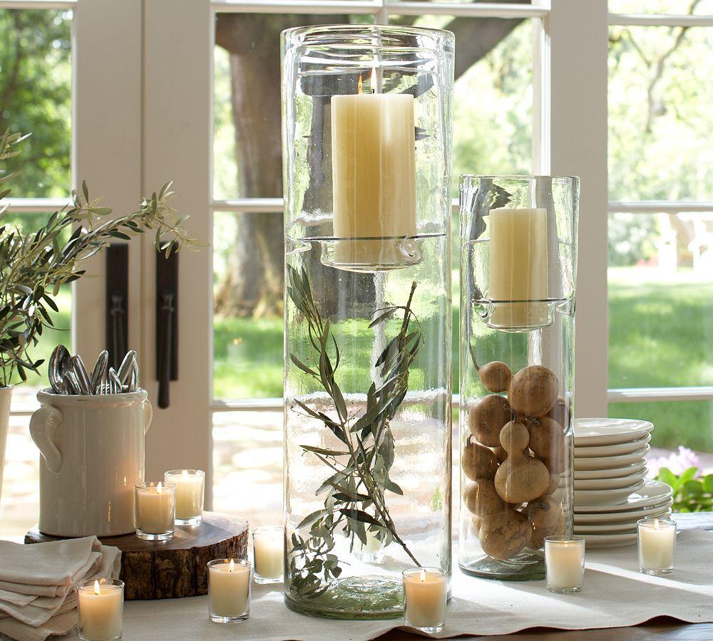 Glass Display Hurricanes Pottery Barn Au
