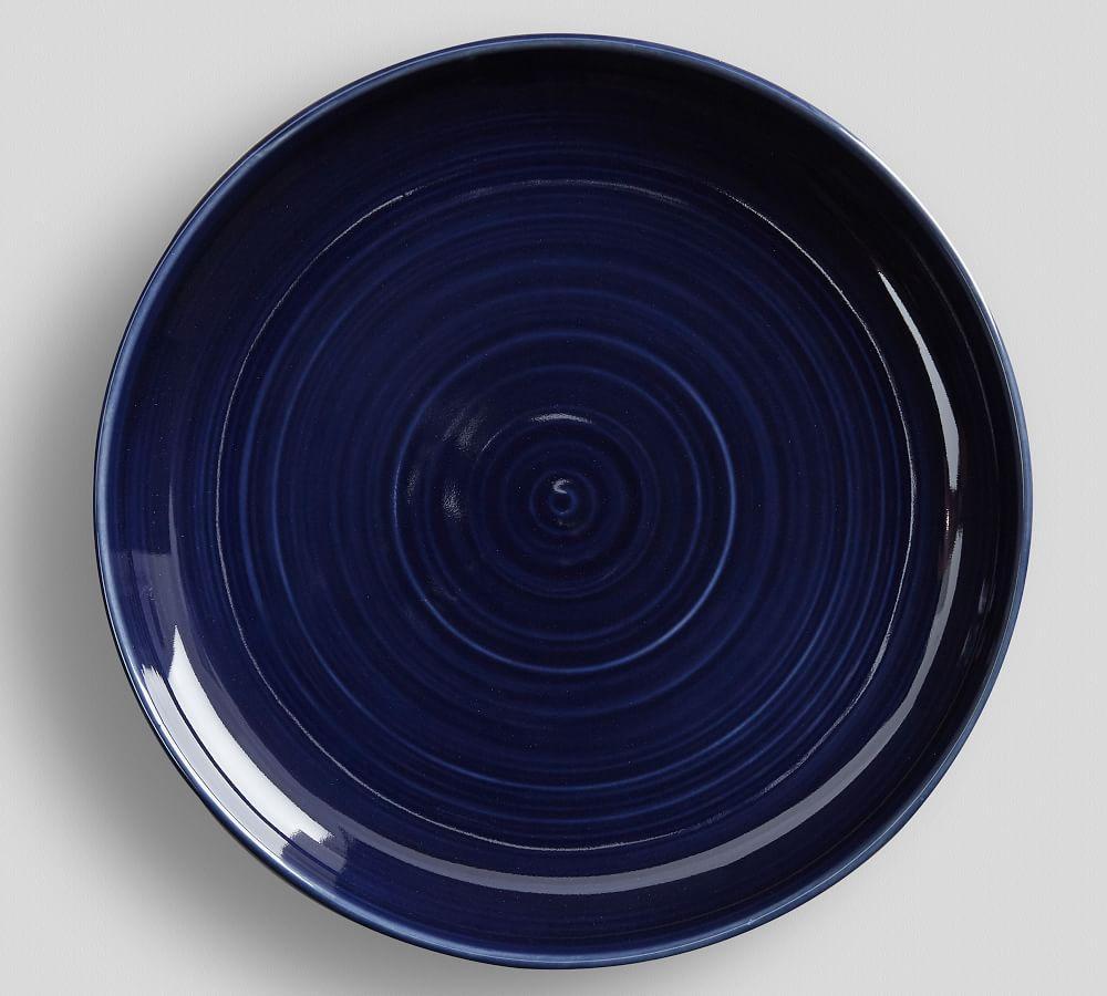 Joshua Salad Plate - Navy Blue